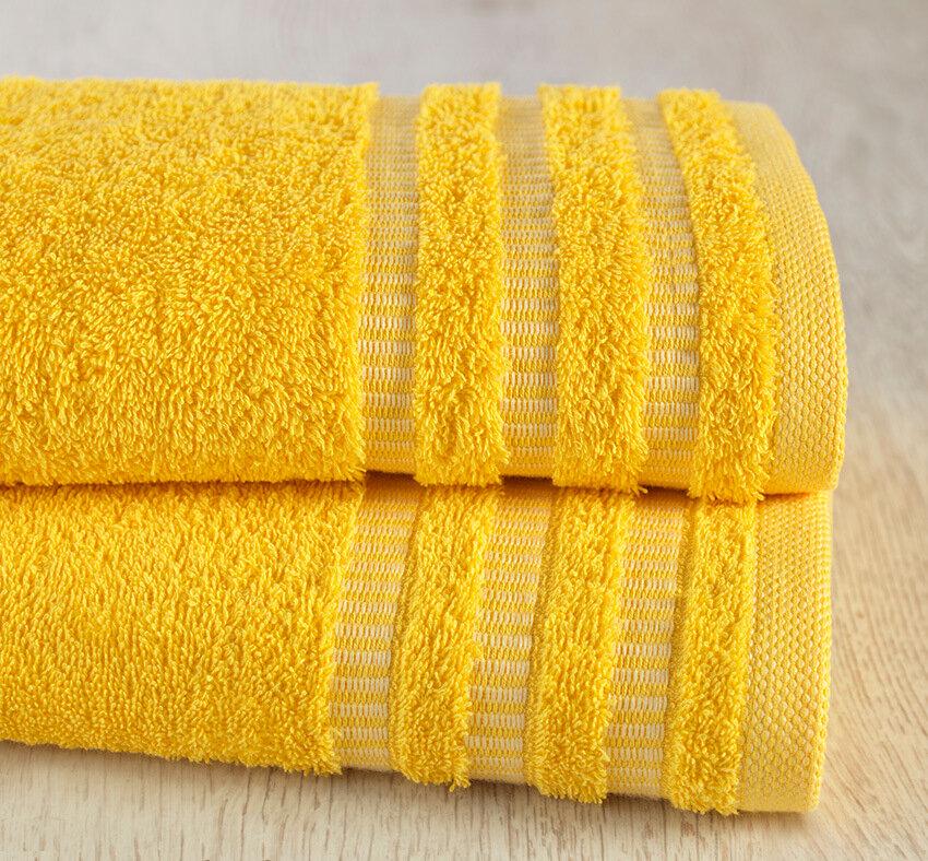 Полотенце Венго Цвет: Желтый (70х140 см)