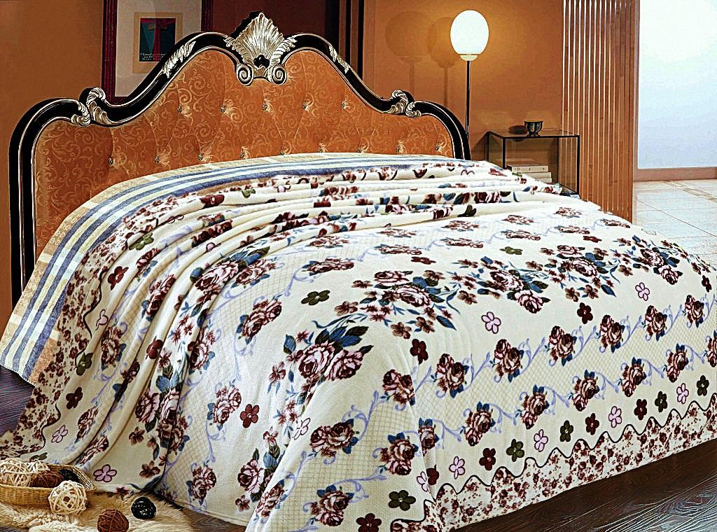 Купить Пледы и покрывала Elegante, Плед Элегия (180х200 см), Россия, Синтетический флис