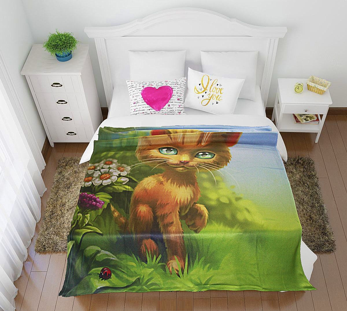 Купить Покрывала, подушки, одеяла для малышей Elegante, Детский плед Знакомство (150х200 см), Россия, Синтетический флис