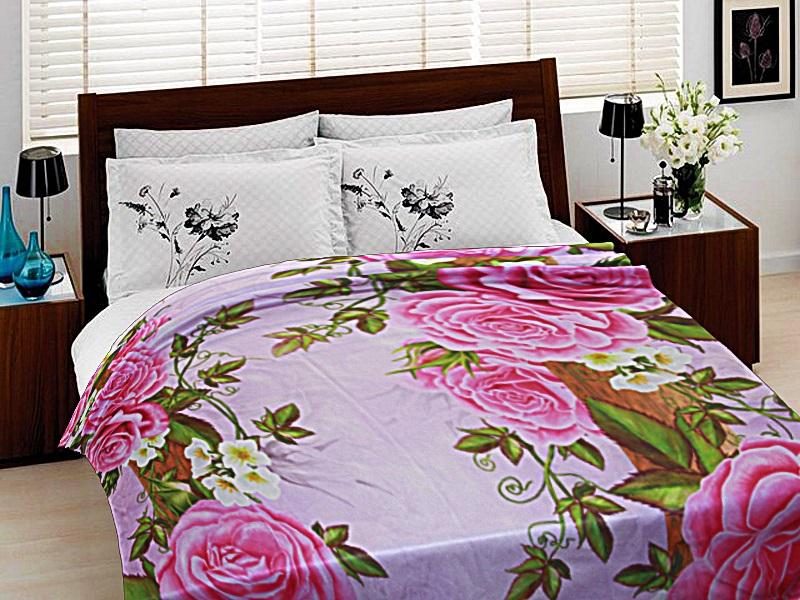 Купить Покрывала, подушки, одеяла для малышей Elegante, Детский плед Китайские Розы (150х200 см), Россия, Синтетический флис