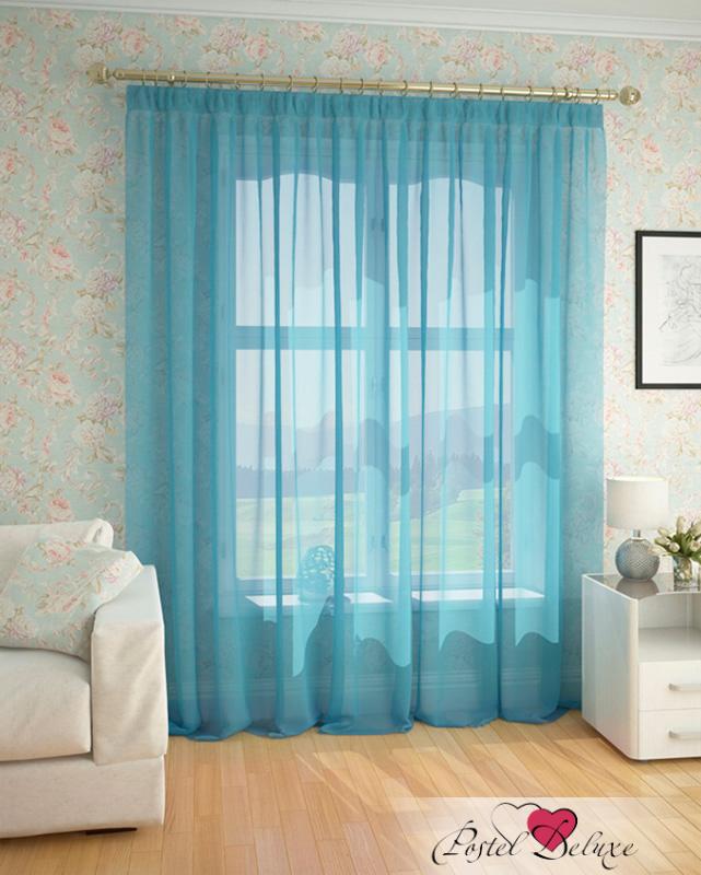 Купить Шторы ARCODORO, Классические шторы Безмятежность Цвет: Светло-Голубой, Россия, Вуаль