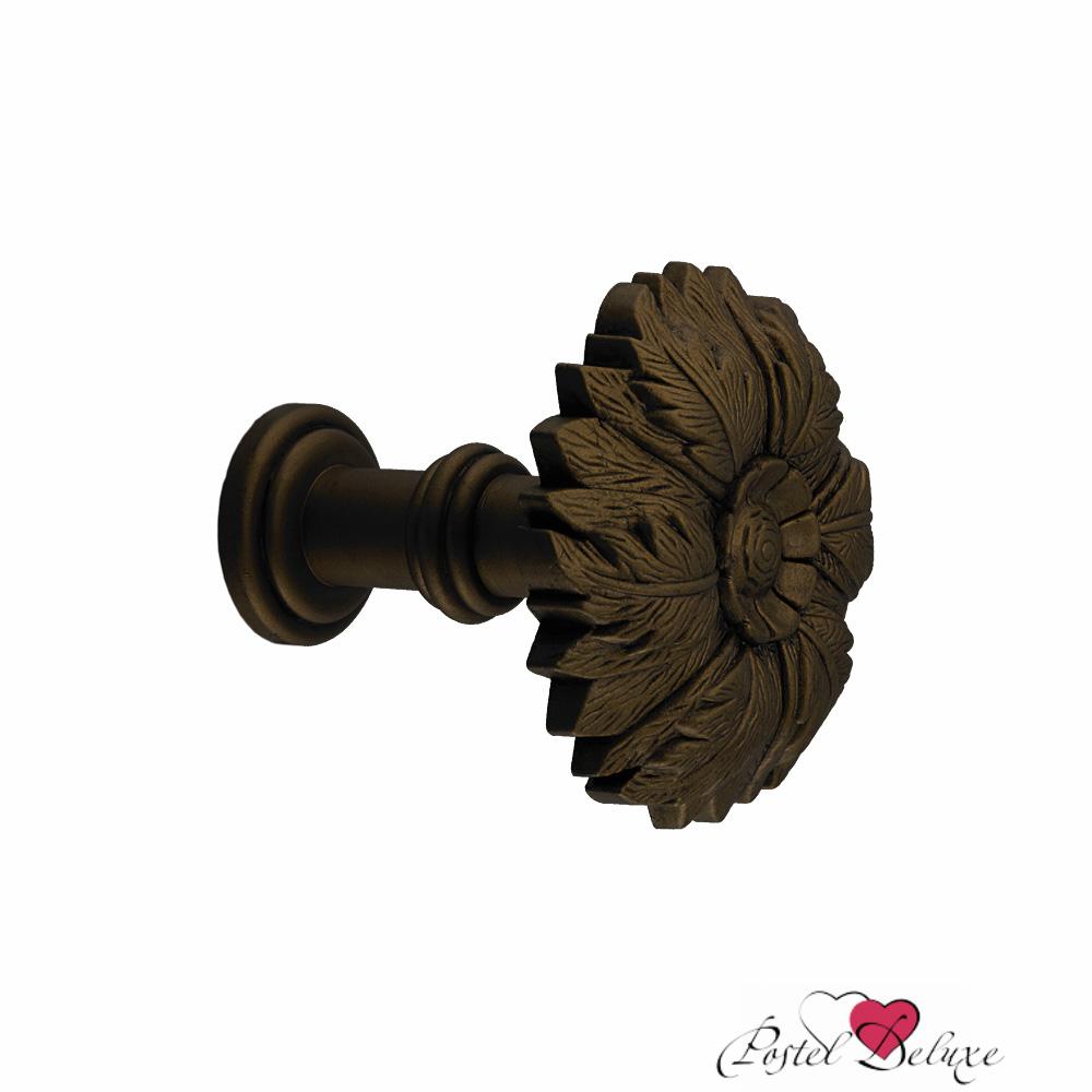 Карнизы и аксессуары для штор ARCODORO Розетка Листья Цвет: Черная Медь