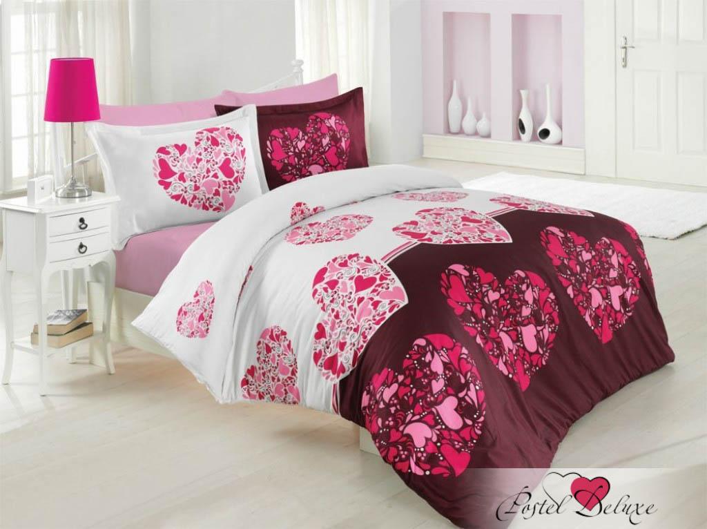 Купить Комплекты постельного белья Altinbasak, Постельное белье Julien Цвет: Розовый (2 сп. евро), Турция, Хлопковый сатин