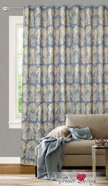 Купить Шторы Garden, Классические шторы Madison Цвет: Синий, Турция, Жаккард
