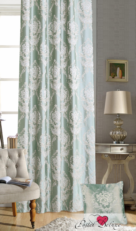 Шторы Garden Классические шторы Роскошь Цвет: Зелено-Голубой портьеры garden шторы