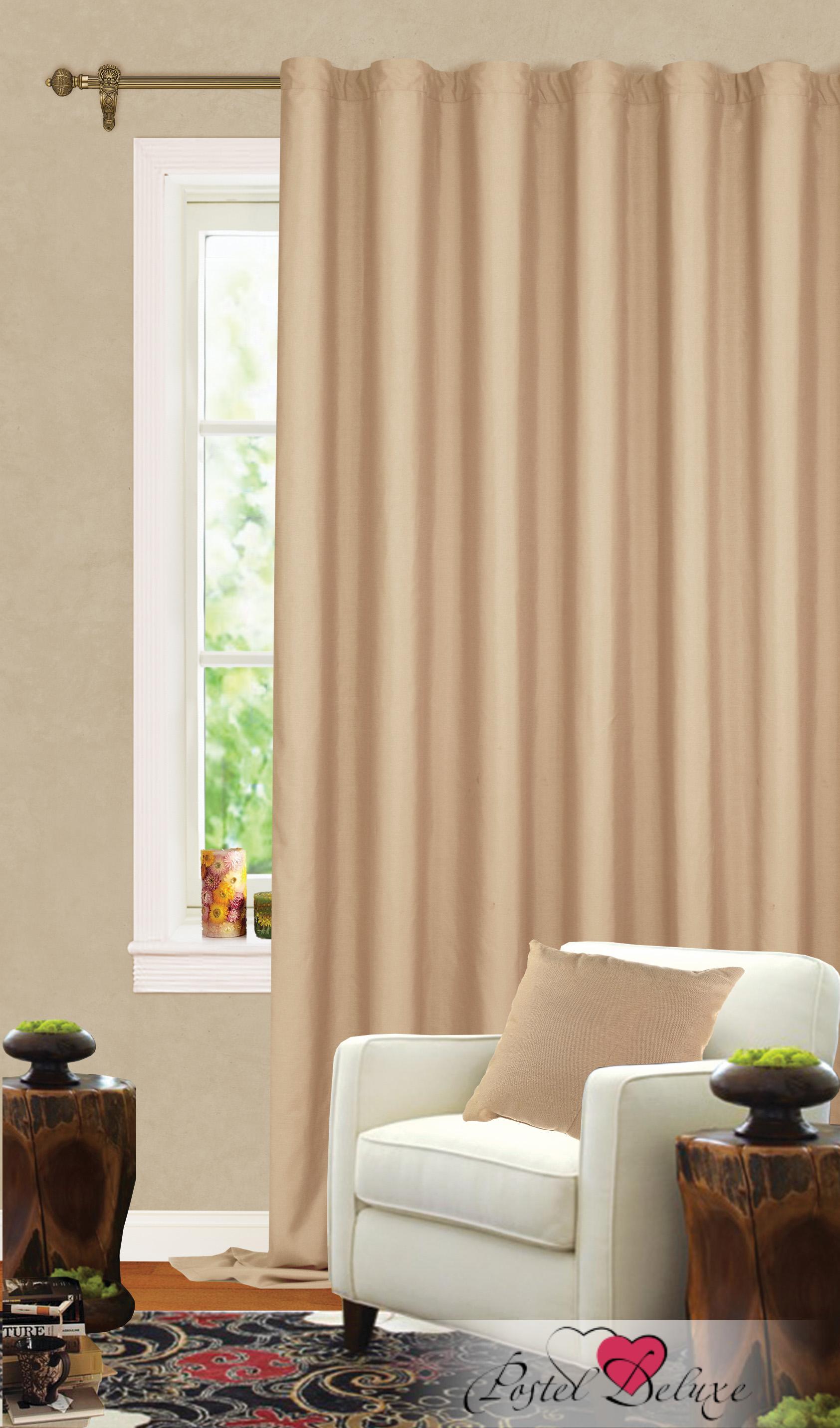 Купить Шторы Garden, Классические шторы Honour Цвет: Темно-Бежевый, Турция, Портьерная ткань