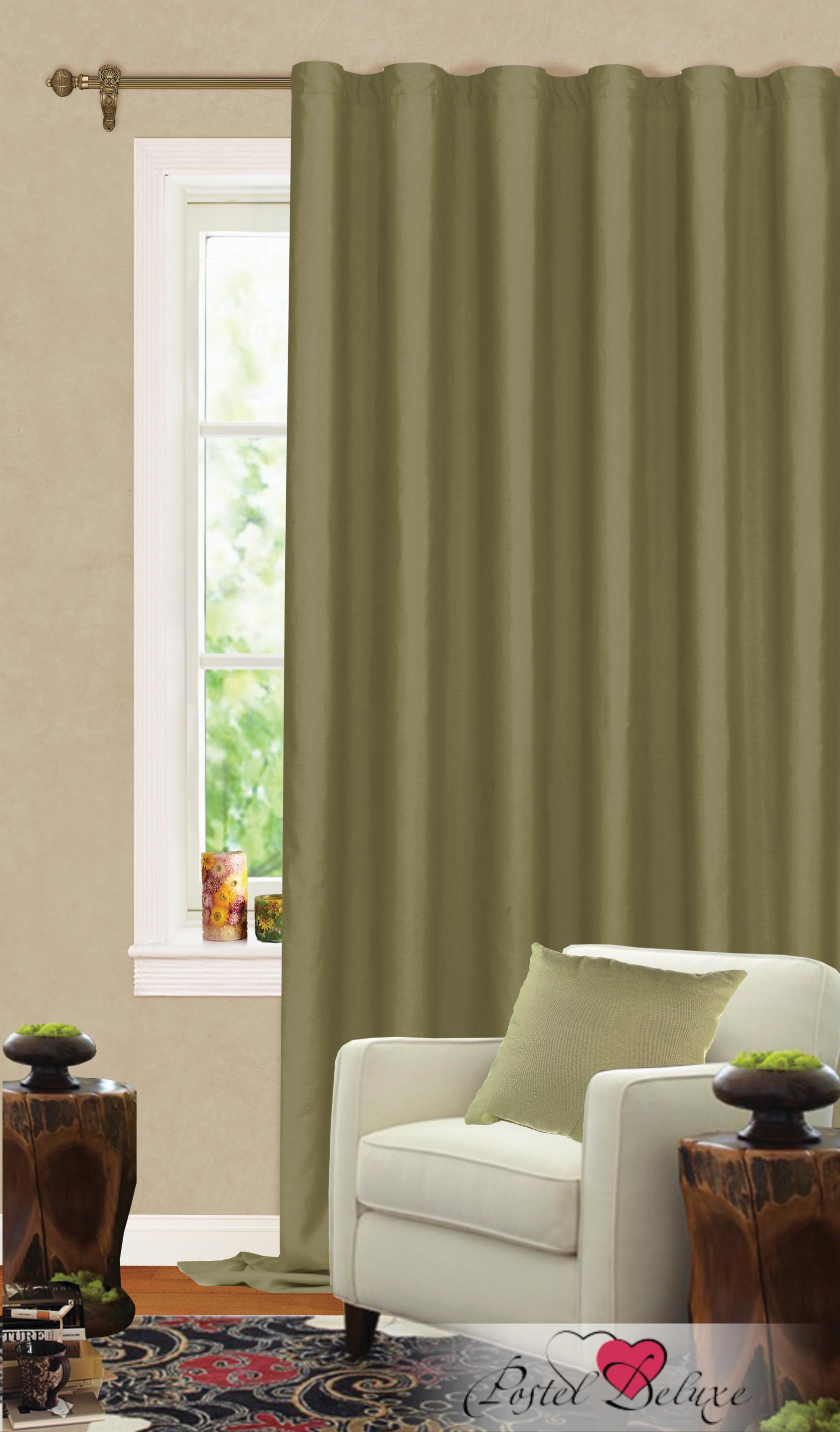 Купить Шторы Garden, Классические шторы Helen Цвет: Болотный, Турция, Зеленый, Портьерная ткань