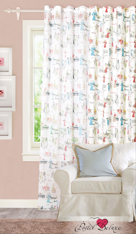 Купить Шторы Garden, Классические шторы Braiden, Турция, Белый, Портьерная ткань