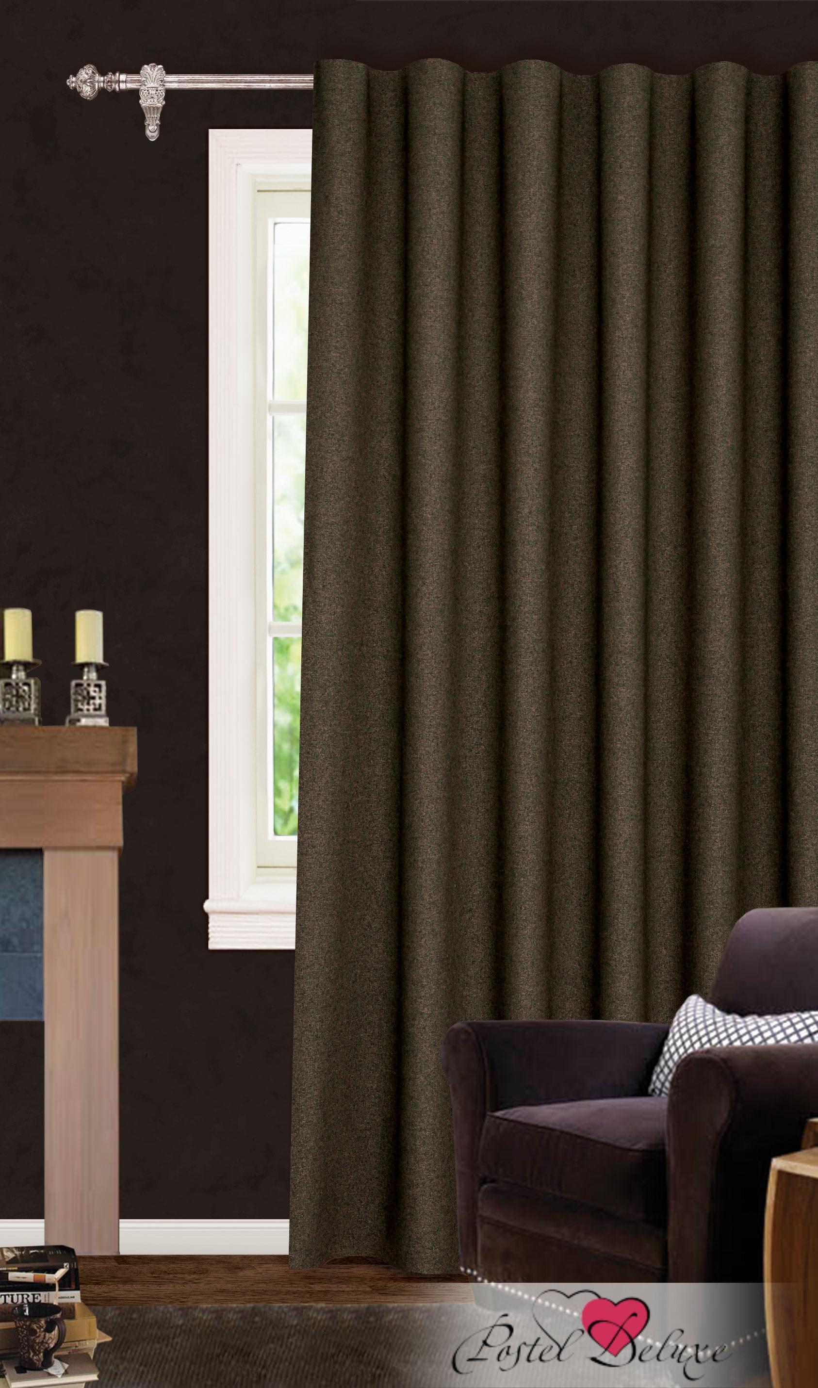 Купить Шторы Garden, Классические шторы Murphy Цвет: Коричневый, Турция, Blackout