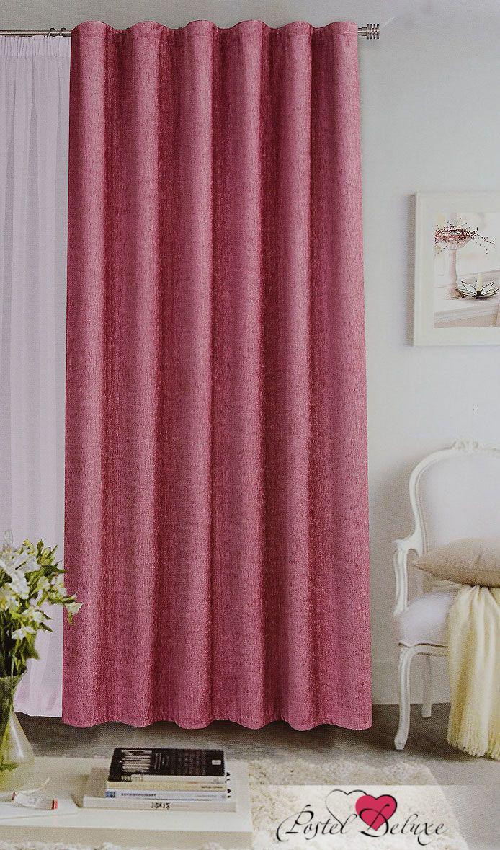 Купить Шторы Garden, Классические шторы Allissa Цвет: Розово-Сиреневый, Турция, Розовый, Шенилл