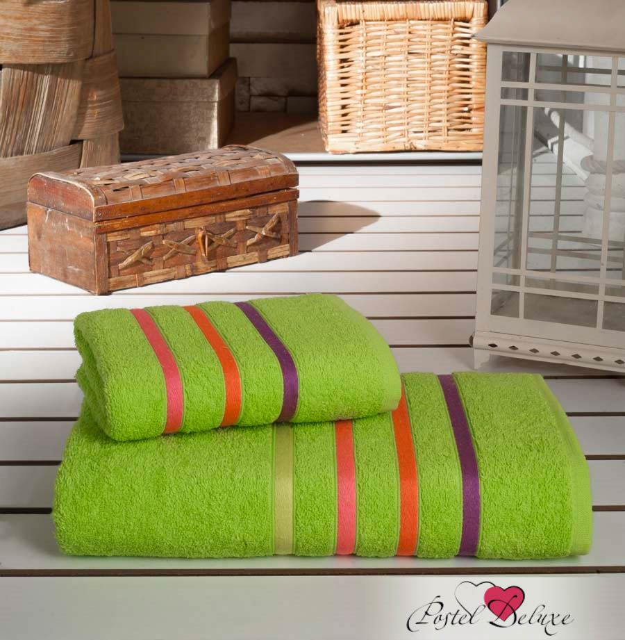 Полотенца Karna Полотенце Bale Neon Цвет: Зеленый (Набор) полотенца karna полотенце bale цвет розовый набор