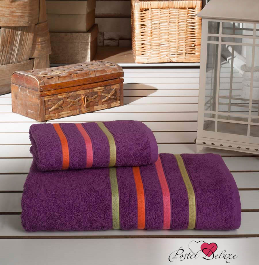 Полотенца Karna Полотенце Bale Neon Цвет: Фиолетовый (Набор) полотенца karna полотенце bale цвет розовый набор
