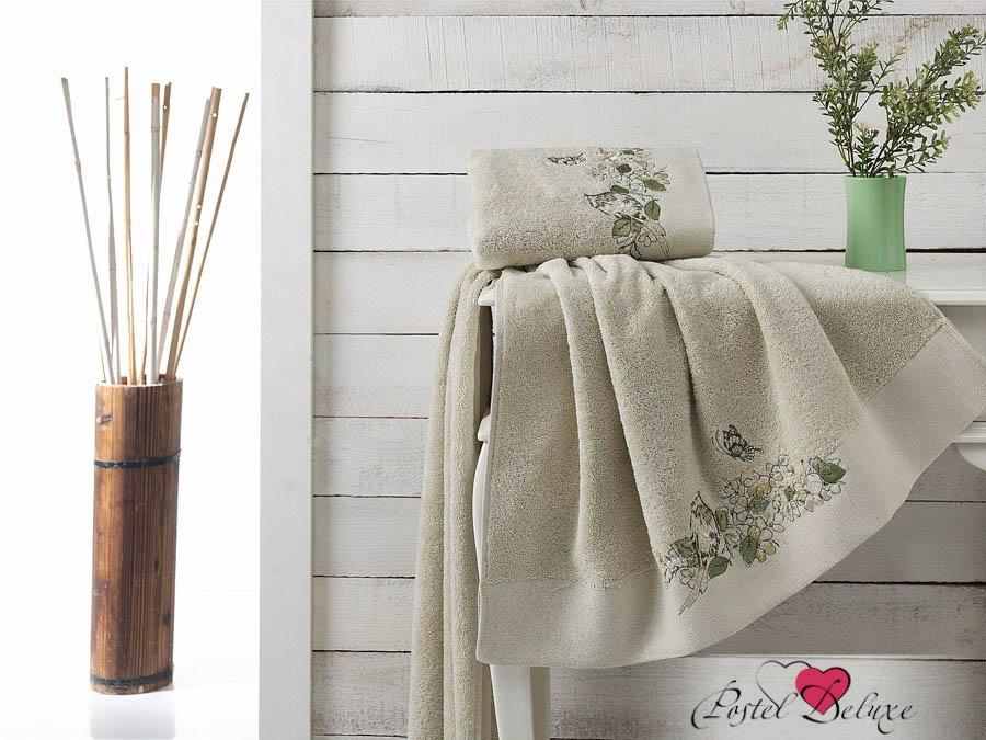 Купить Полотенца Karna, Полотенце Eva Цвет: Зеленый (Набор), Турция, Махра
