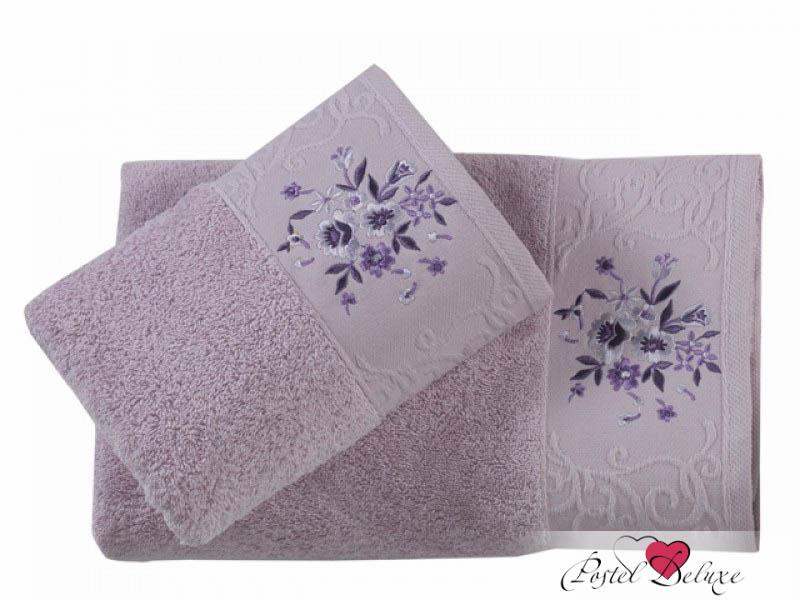 Купить Полотенца Karna, Полотенце Viola Цвет: Светло-Сиреневый (Набор), Турция, Махра
