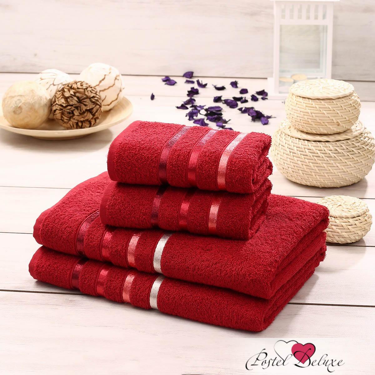 Купить Полотенца Karna, Полотенце Bale Цвет: Красный (Набор), Турция, Махра