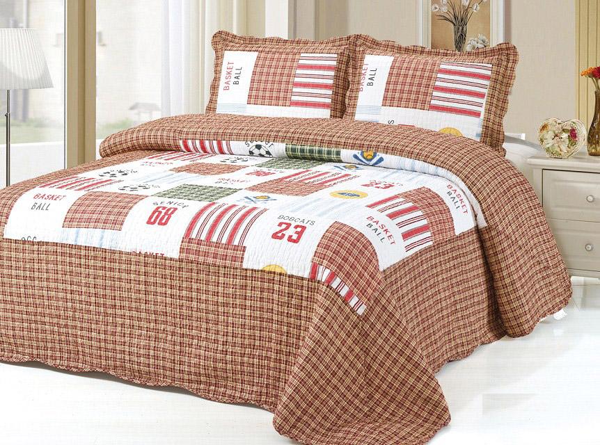 Купить Покрывала, подушки, одеяла для малышей Tango, Детское покрывало King (180х220 см), Китай, Бежевый, Хлопковый сатин