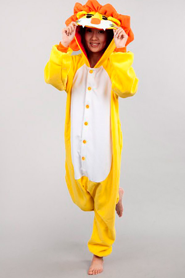 Пижама-кигуруми Лев (S) фото