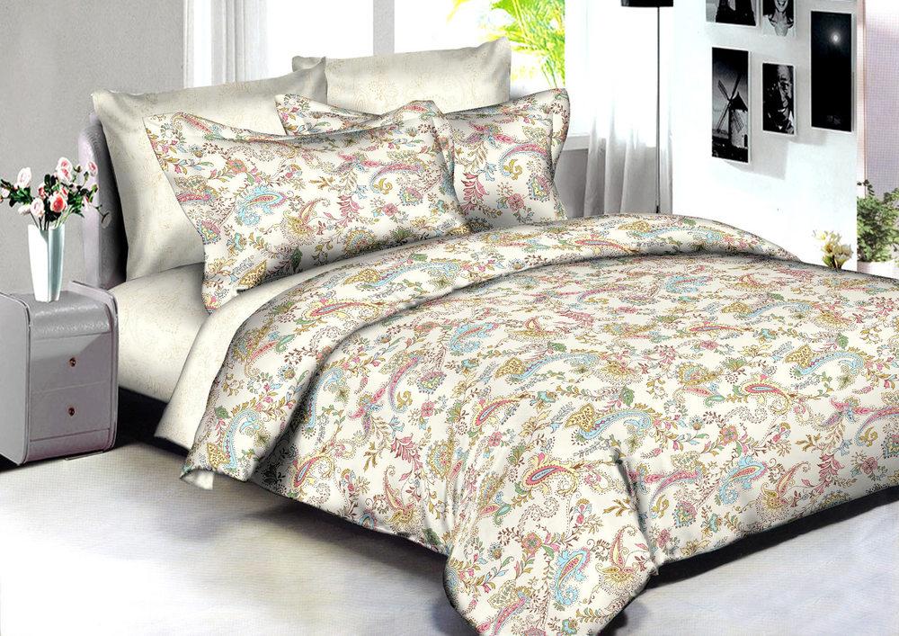 Купить Комплекты постельного белья Amore Mio, Постельное белье Delhi (2 сп. евро), Китай, Мультиколор, Хлопковый сатин