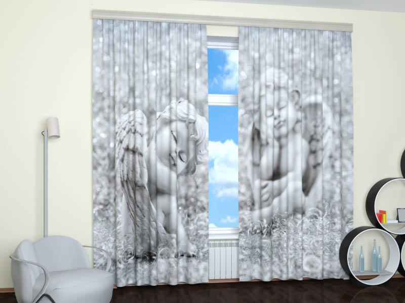 шторы с ангелочками фото скажу, что это