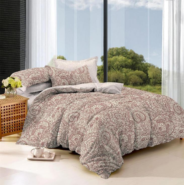 Купить Комплекты постельного белья Примавера, Постельное белье Uriella (2 спал.), Китай, Розовый, Хлопковый сатин