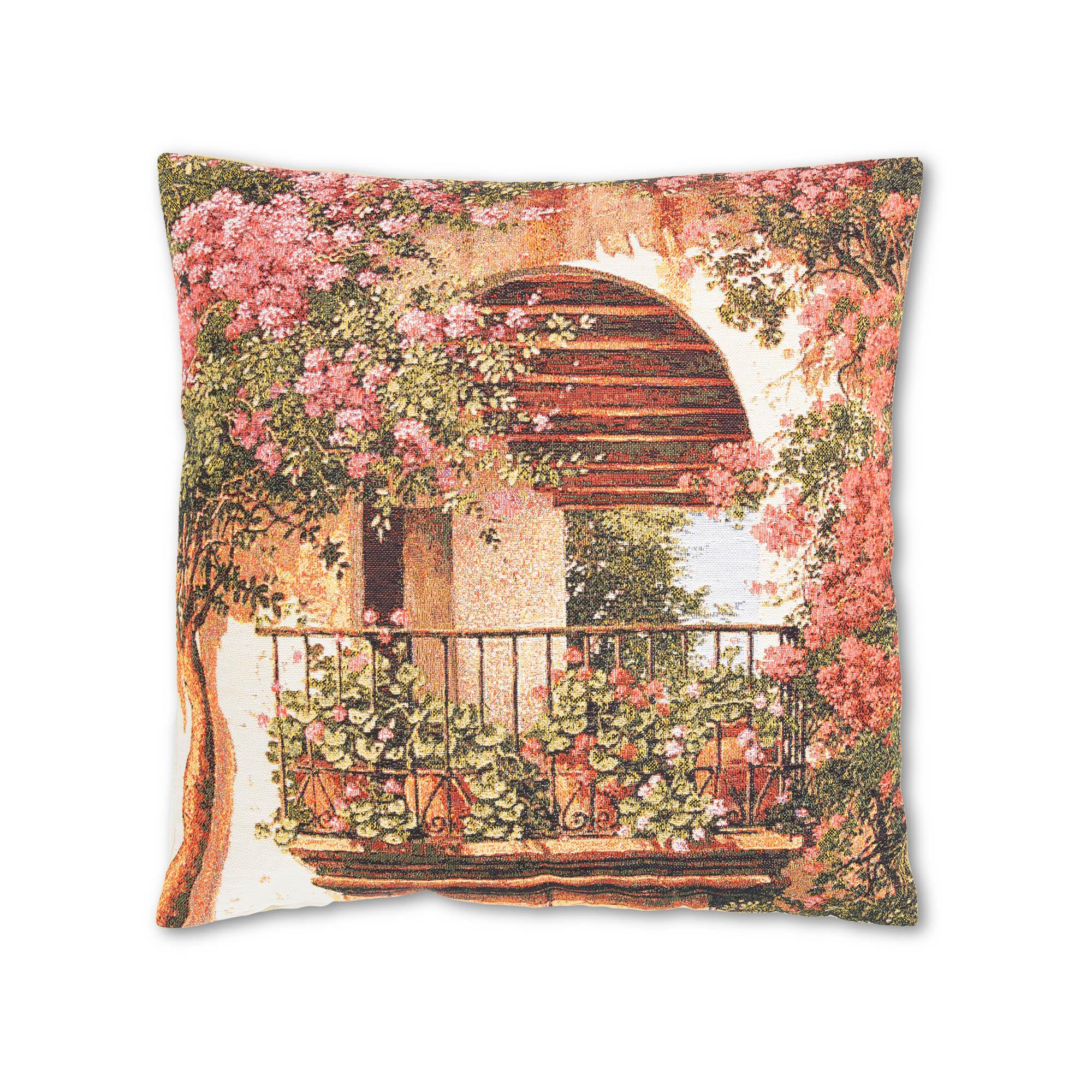 где купить Декоративные подушки A La Gobelin Декоративная подушка Цветочная Арка (45х45) по лучшей цене