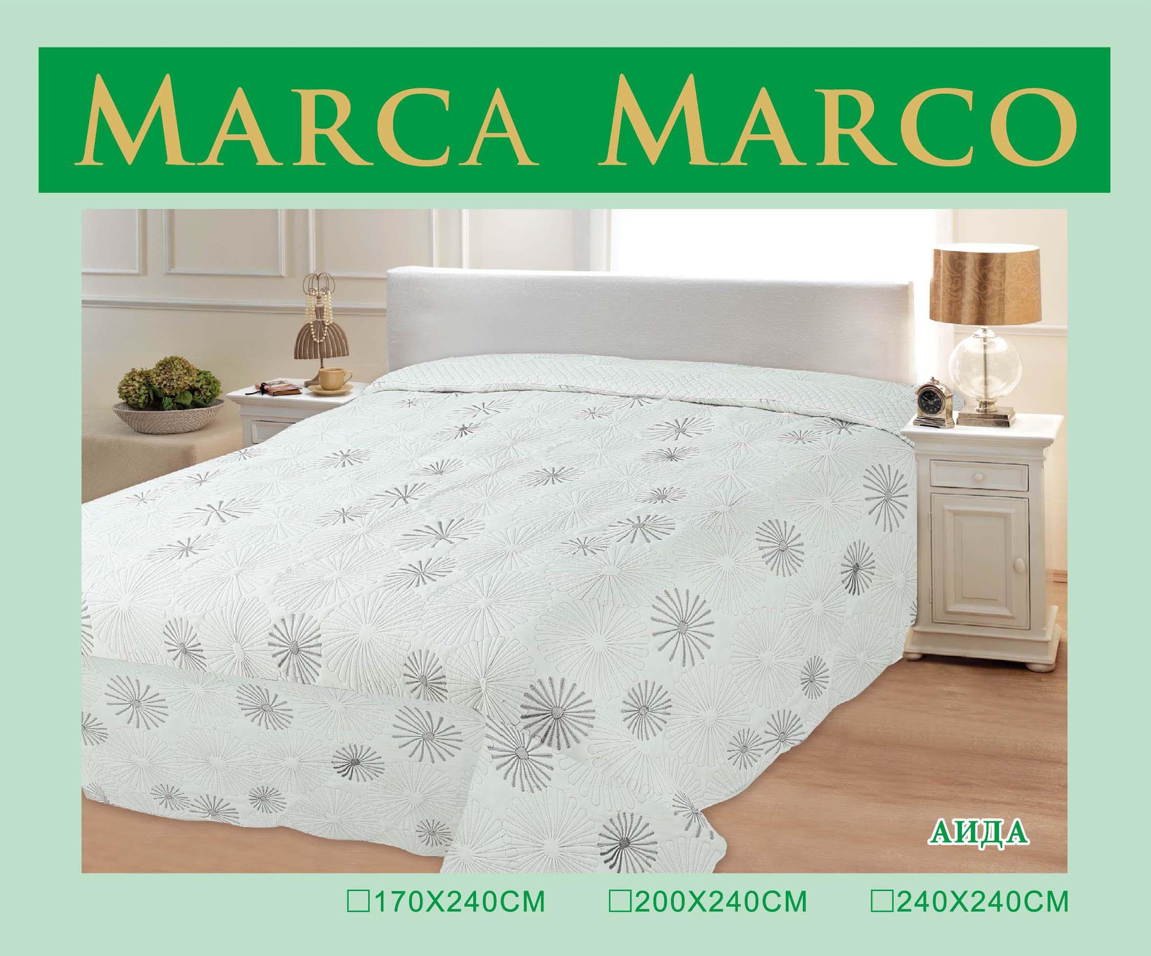 где купить Пледы и покрывала MАRCA MARCO Покрывало Аида (200х240 см) по лучшей цене