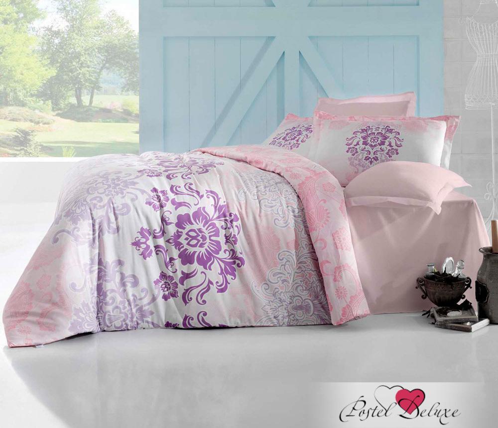 Купить Комплекты постельного белья Altinbasak, Постельное белье Ilma Цвет: Розовый (2 сп. евро), Турция, Хлопковый сатин