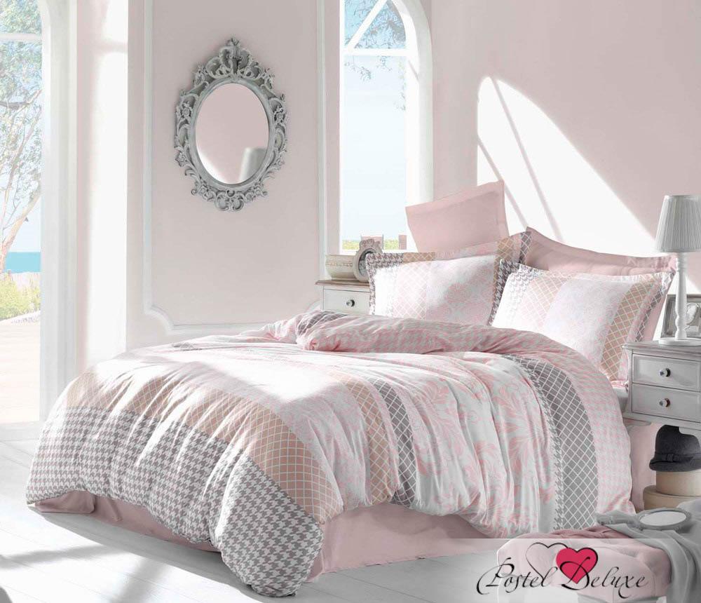 Купить Комплекты постельного белья Altinbasak, Постельное белье Risha Цвет: Розовый (2 сп. евро), Турция, Хлопковый сатин