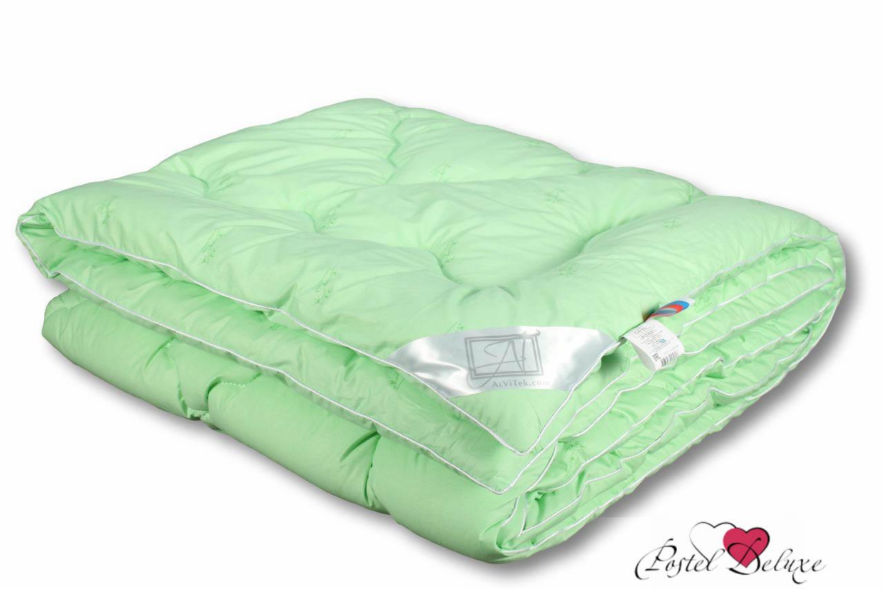 Одеяла AlViTek, ОдеялоБамбук Всесезонное (140х205 см), Россия, Зеленый, Перкаль  - Купить