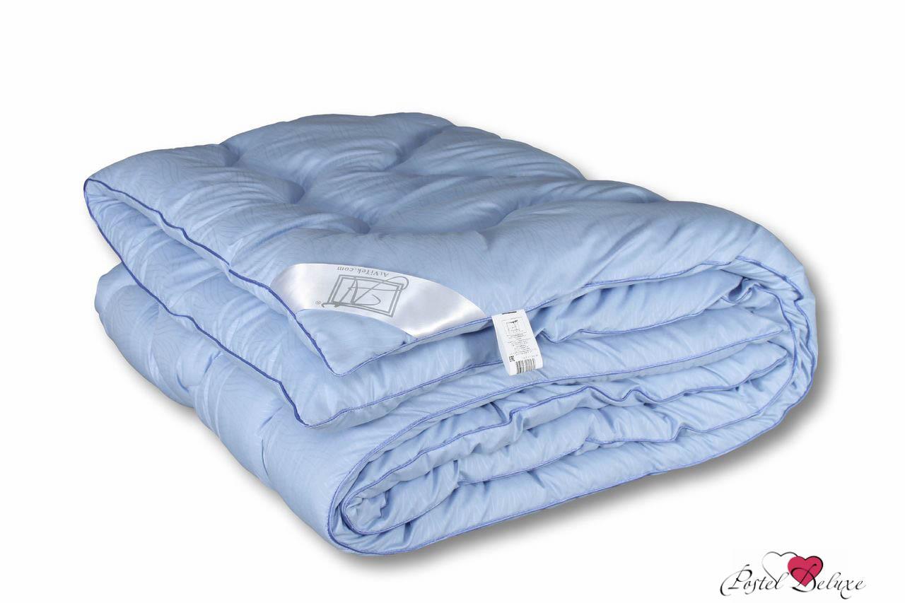 Купить Одеяла AlViTek, Одеяло Лаванда-Эко Всесезонное (140х205 см), Россия, Белый, Голубой, Микрофибра