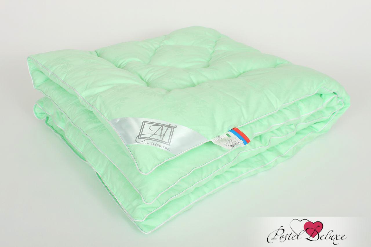 Купить Покрывала, подушки, одеяла AlViTek, Детское одеяло Бамбук Теплое (110х140 см), Россия, Зеленый, Перкаль