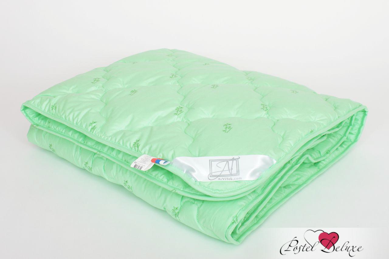 Купить Одеяла AlViTek, Одеяло Бамбук-Лето-Стандарт Летнее (140х205 см), Россия, Зеленый, Перкаль