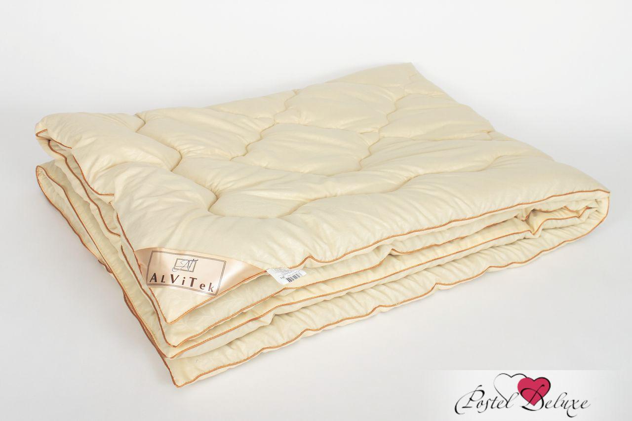 Купить Одеяла AlViTek, Одеяло Модерато-Эко Всесезонное (140х205 см), Россия, Персиковый, Микрофибра