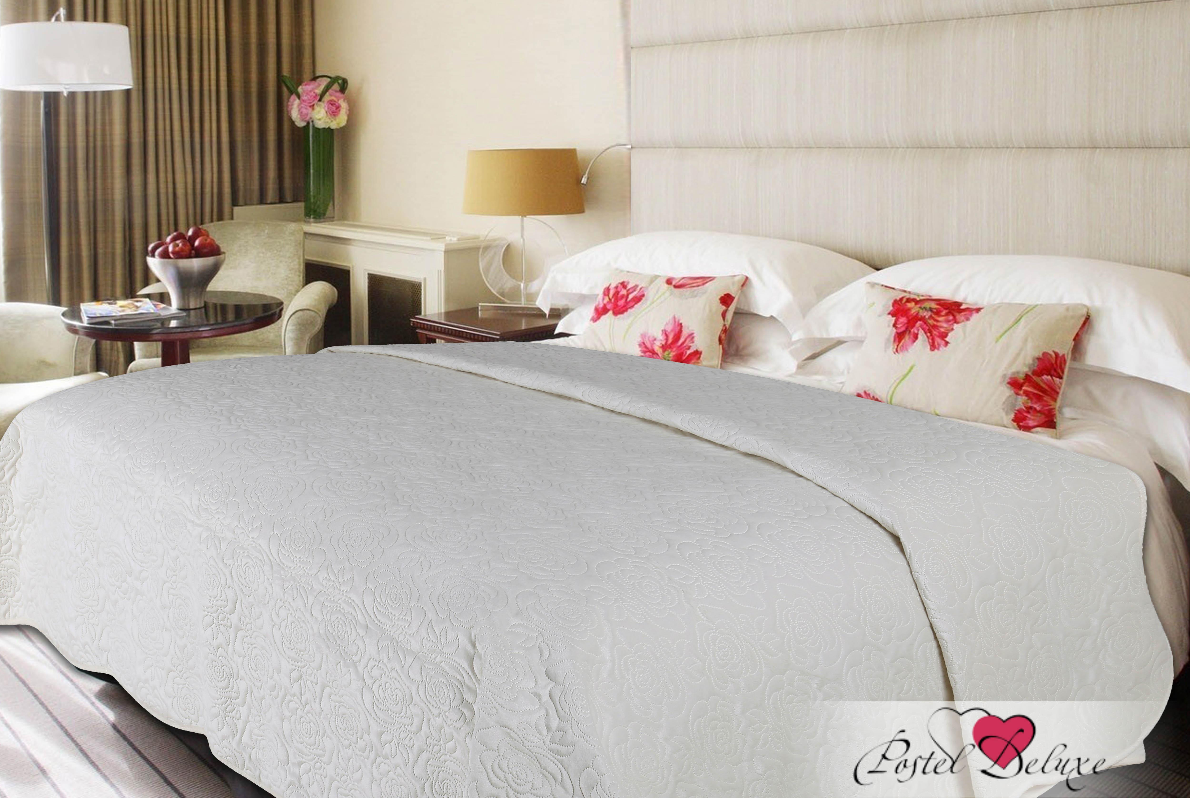 Купить Пледы и покрывала Amore Mio, Покрывало Deco Цвет: Молочный (200х220 см), Китай, Серый, Синтетический велюр