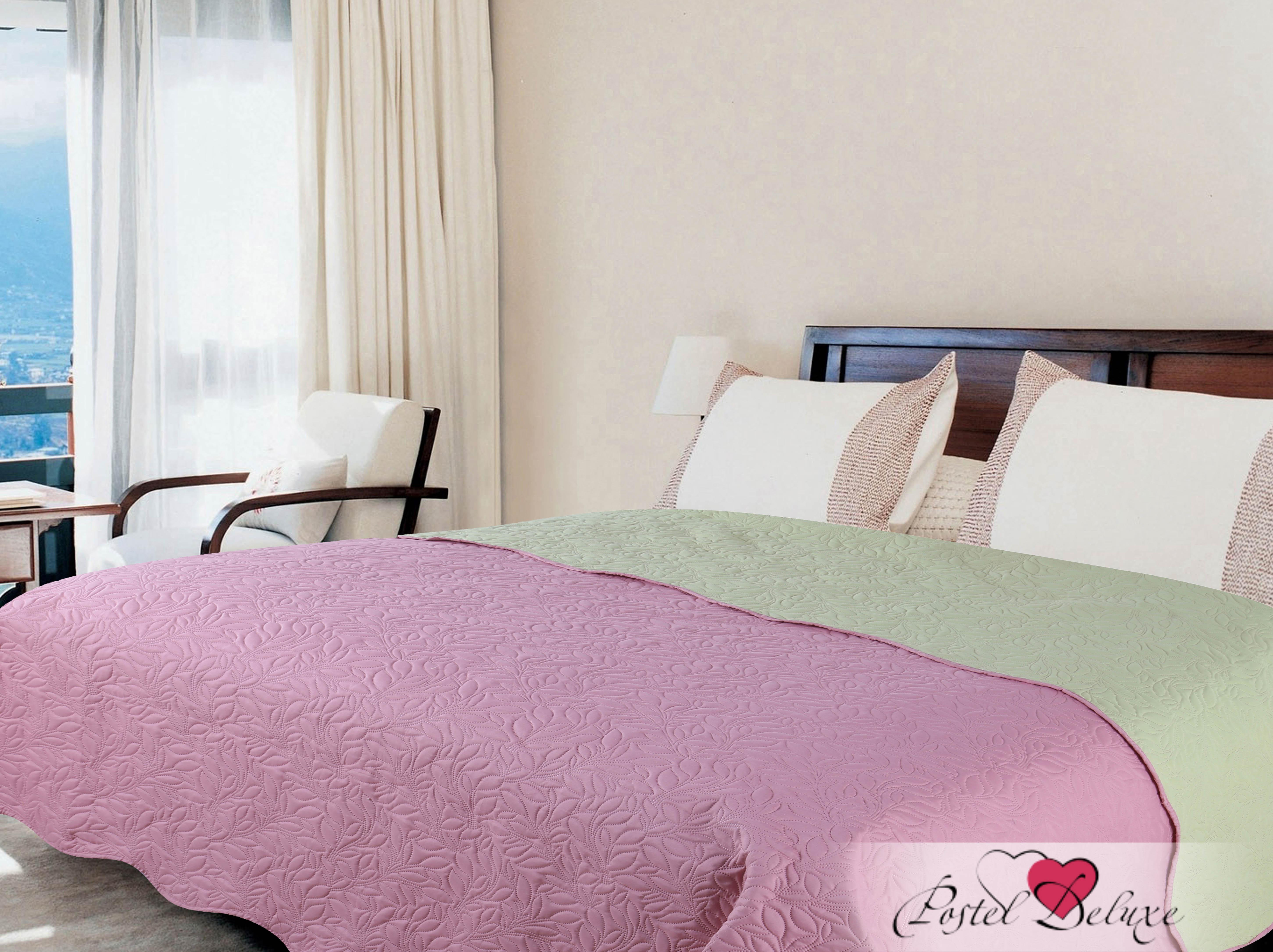 Купить Пледы и покрывала Amore Mio, Покрывало Alba Цвет: Розовый-Зеленый (200х220 см), Китай, Зеленый, Розовый, Микрофибра