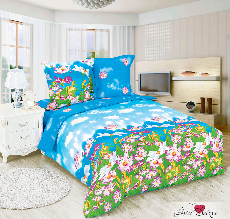 Купить Комплекты постельного белья Amore Mio, Постельное белье Радость (2 спал.), Китай, Голубой, Зеленый, Поплин