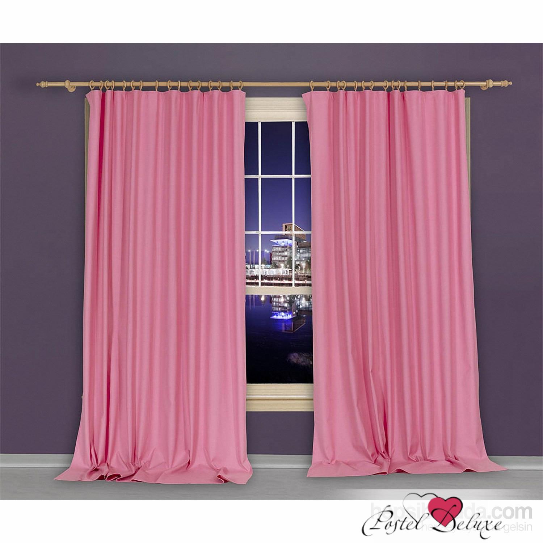 Купить Шторы Apolena, Классические шторы Rose, Россия-Турция, Розовый, Портьерная ткань