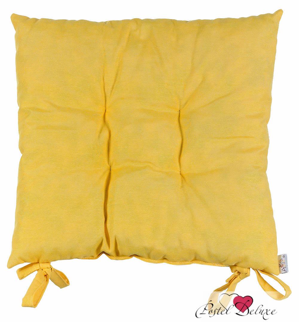 Купить Декоративные подушки Apolena, Подушка на стул Одуванчик (40х40), Россия-Турция, Желтый, Поликоттон
