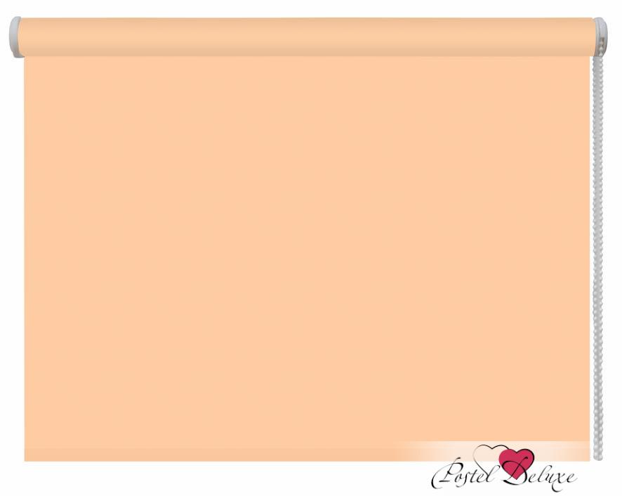 Римские и рулонные шторы ARCODORO Рулонные шторы Акварель Цвет:Персиковый