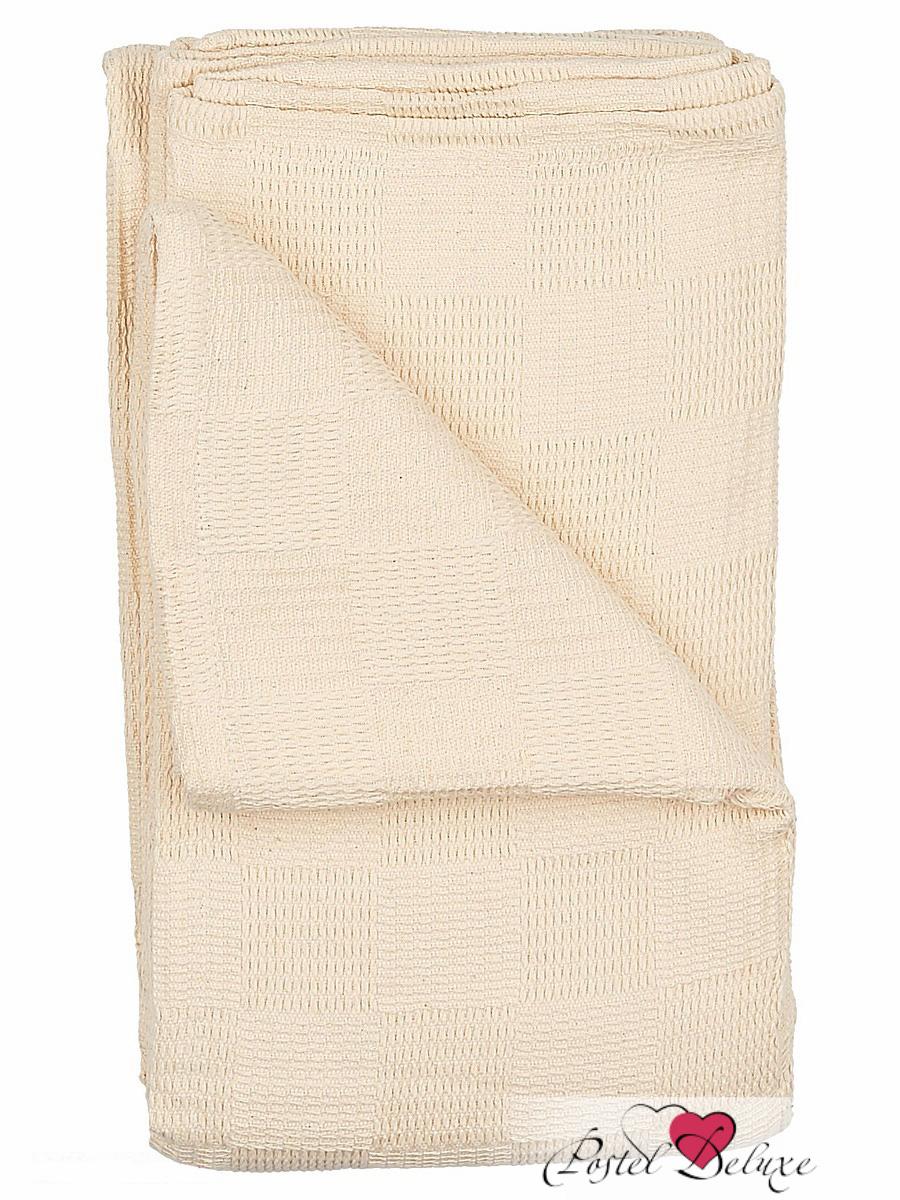 Купить Пледы и покрывала Arloni, Покрывало Чек Тайм Цвет: Натуральный (160х220 см), Индия, Хлопковый жаккард