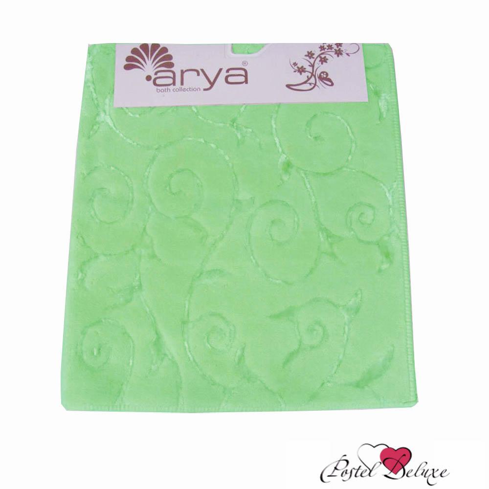 Коврики для ванной и туалета Arya Коврик для ванной Sarmasik Цвет: Зеленый (70х120 см) коврик для ванной white fox relax газон цвет зеленый 50 х 70 см