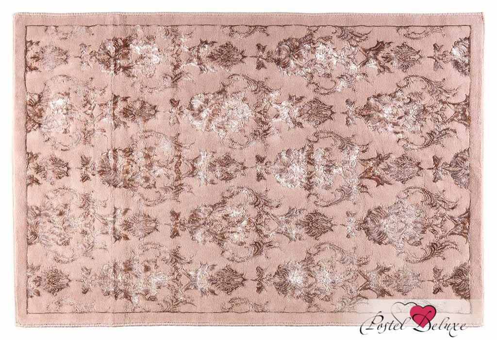 Купить Коврики для ванной и туалета Arya, Коврик для ванной Osmanli Цвет: Сухая Роза (70х120 см), Турция, Розовый, Полиэстер