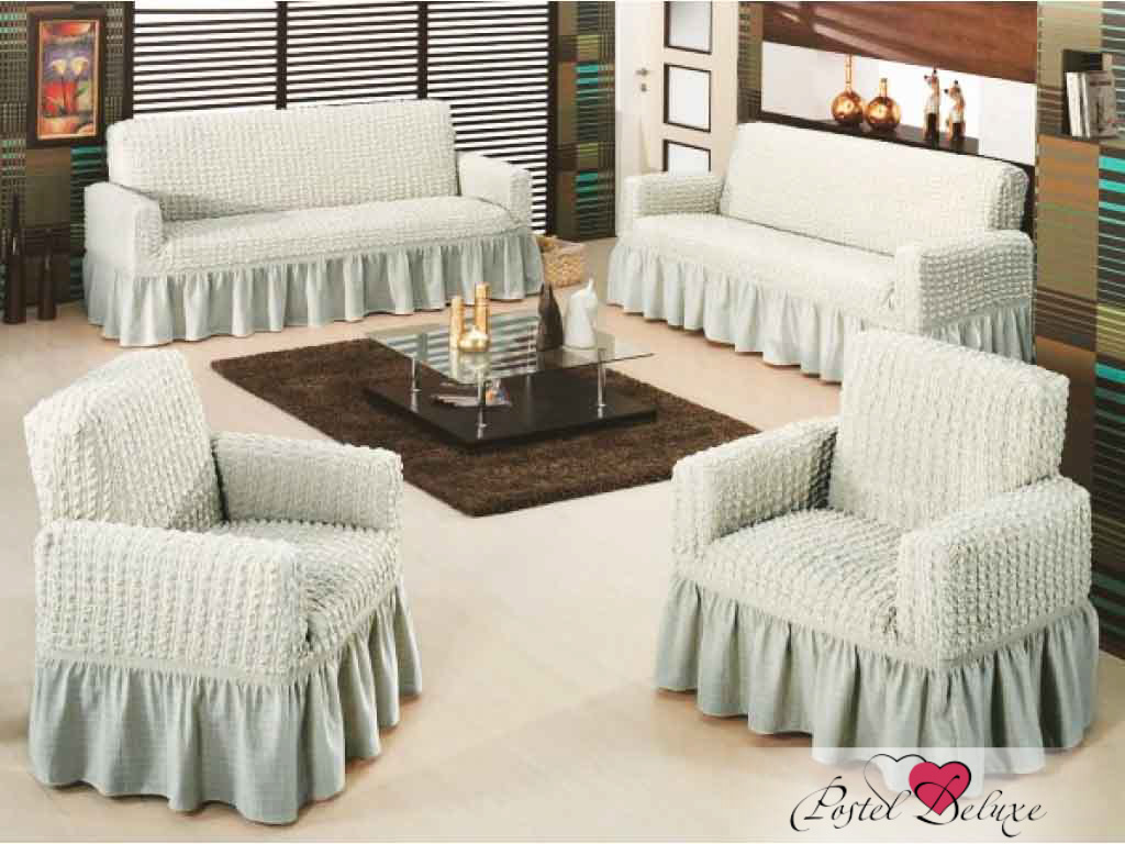 Чехлы для мебели и подушек Arya Чехол Для Кресла Burumcuk Цвет: Серый