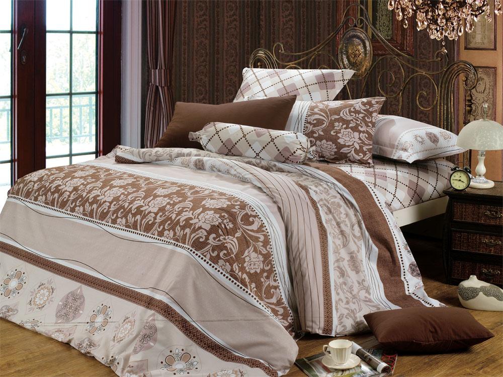 Комплекты постельного белья СайлиД Постельное белье Chasity B-96 (2 сп. евро)