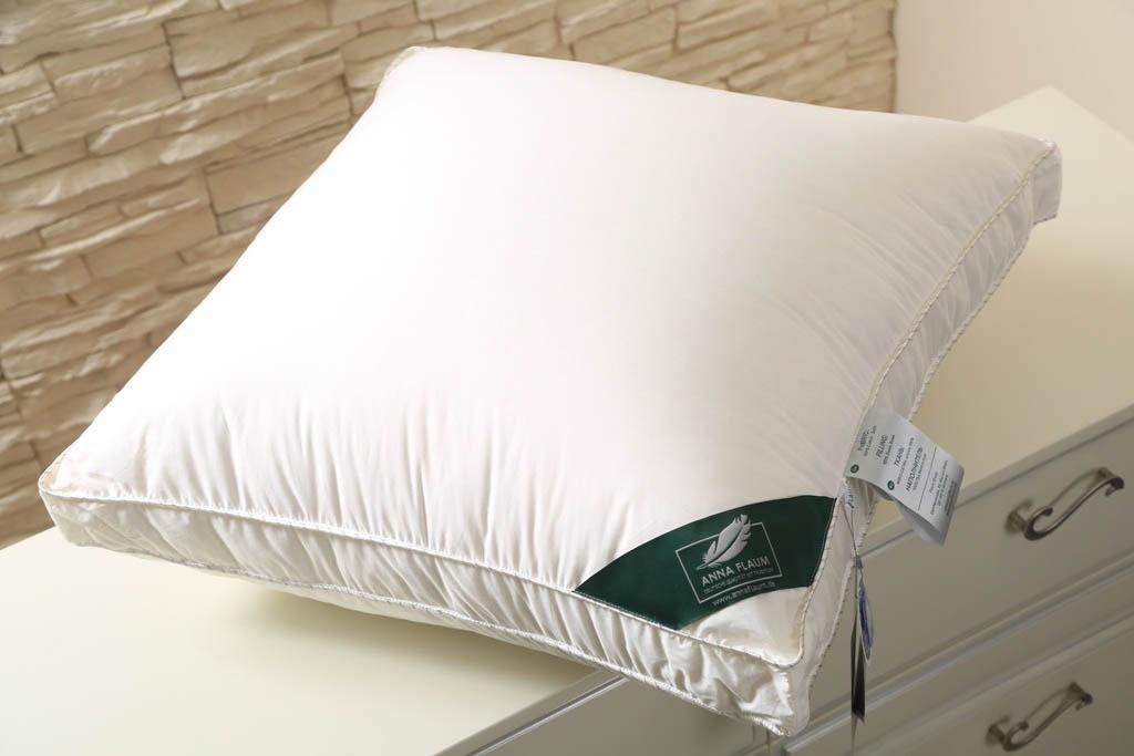 Подушка Sahne Средняя Цвет: Сливочный (50х70)