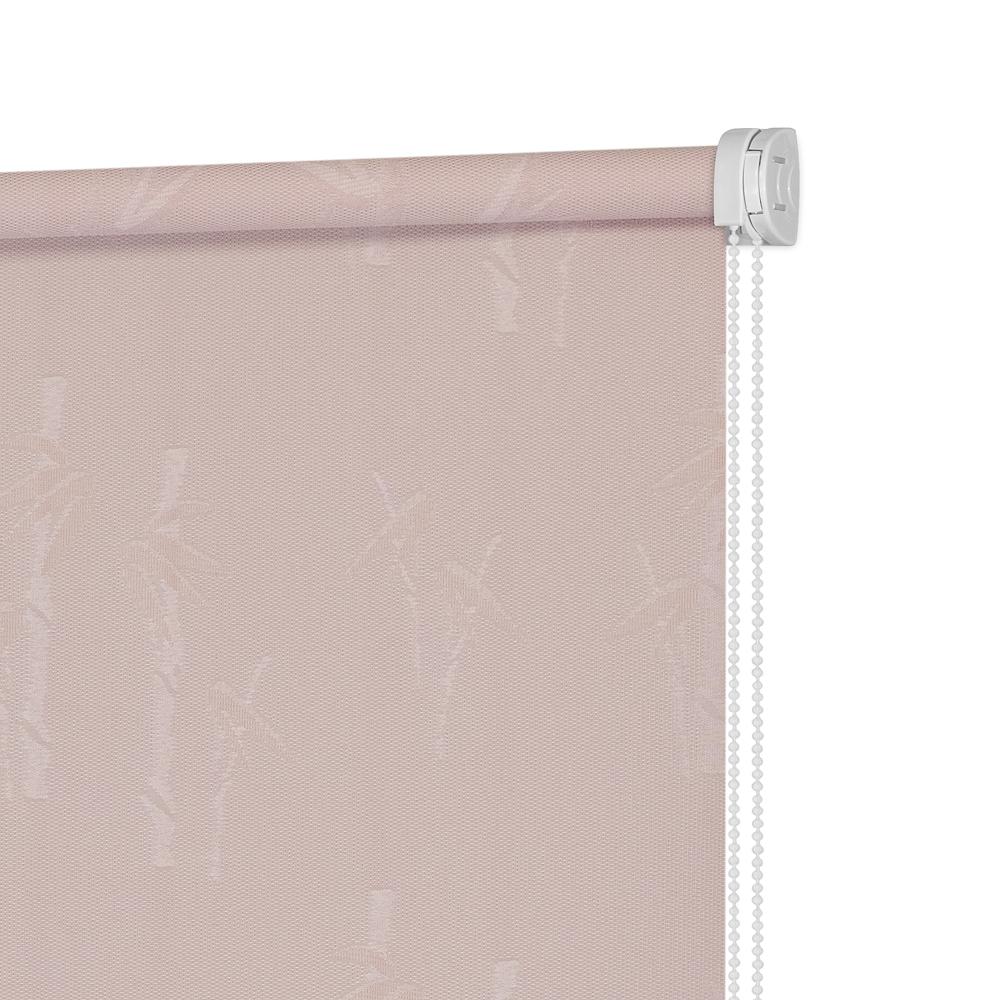 Рулонные шторы Бамбук Цвет: Пыльная Роза