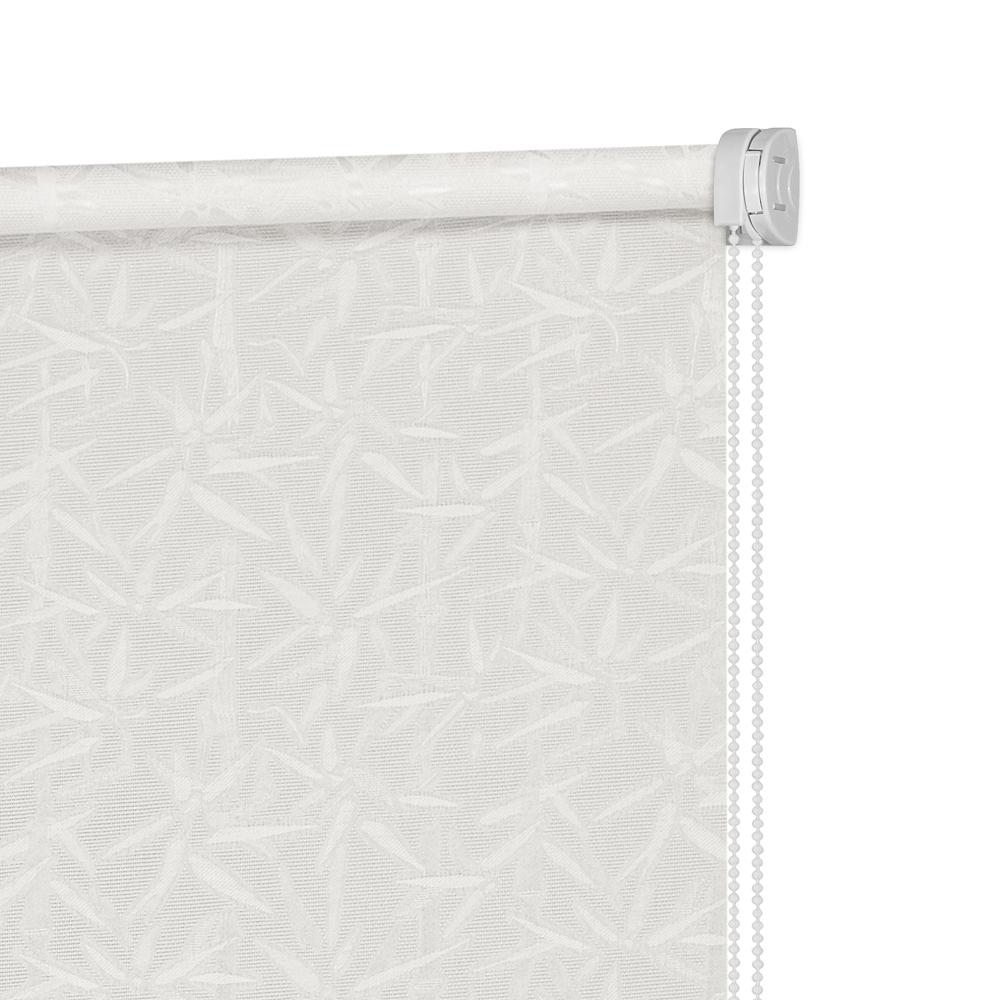 Рулонные шторы Бамбук Цвет: Молочный