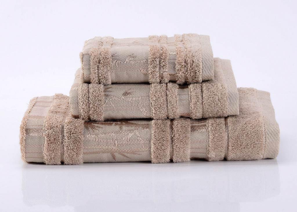 Полотенца Valtery Полотенце Bamboo CL Цвет: Светло-Коричневый (70х140 см)