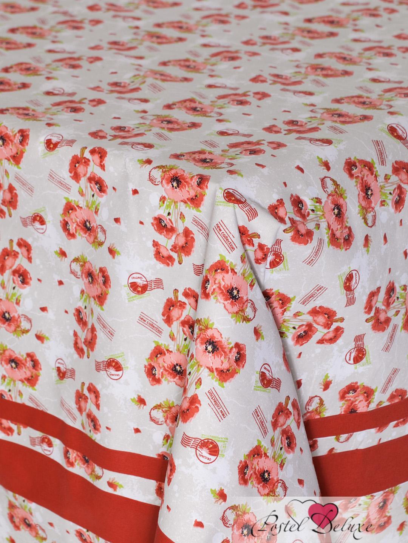 Скатерти и салфетки Bon Appetit Скатерть Маки (140х180 см) полотенце кухонное bon appetit жуки цвет красный розовый оранжевый 63 х 38 см