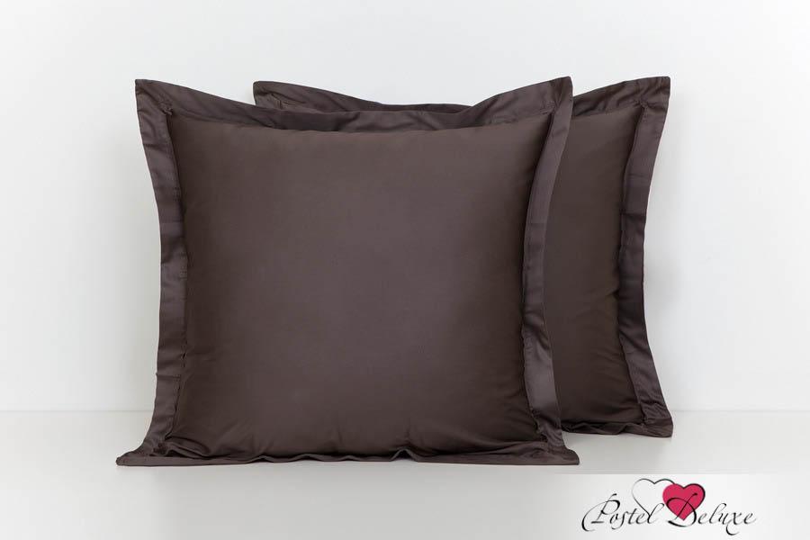 Купить Наволочки BOVI, Наволочка Paige Цвет: Шоколад (70х70), Португалия, Коричневый, Хлопковый сатин